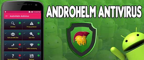 AndroHelm AntiVirus para Android