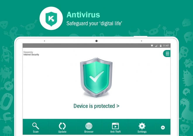 Kaspersky Mobile Security para Android