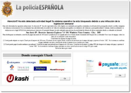 Virus Policia Nacional