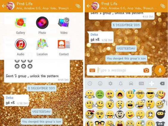 Supuestas funciones premium de WhatsApp Gold