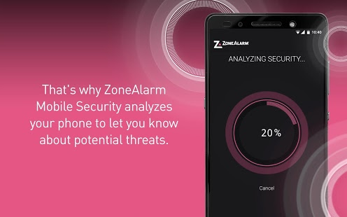 ZoneAlarm Mobile Security, antivirus Android