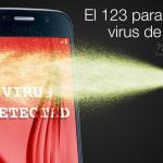 El 123 para eliminar virus de Android