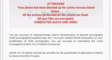 Eliminar virus de la Policía Nacional para Android