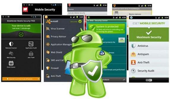 Aplicaciones antivirus Android