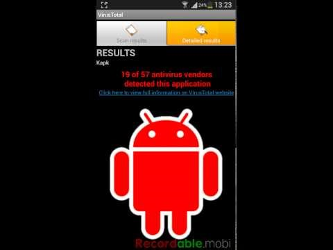 eliminar virus troyano android