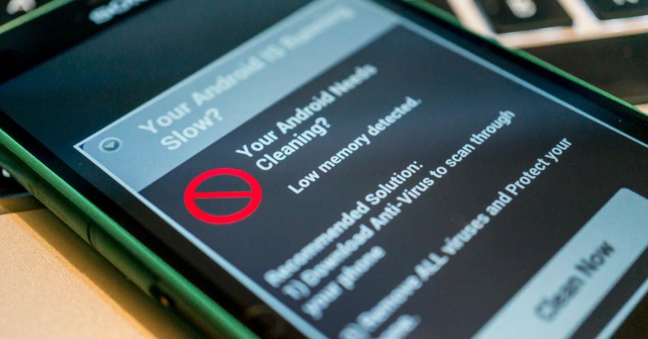 malware a un teléfono Android sin antivirus