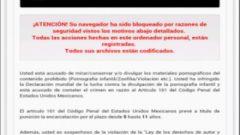 Eliminar virus Policía Federal Android México